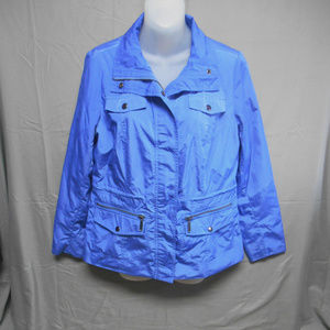 Studio Works outerwear blue lightweight jacket PM